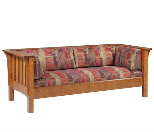 Hardwood 1800 Mission Sofa | Southern Outdoor Living in Kentucky