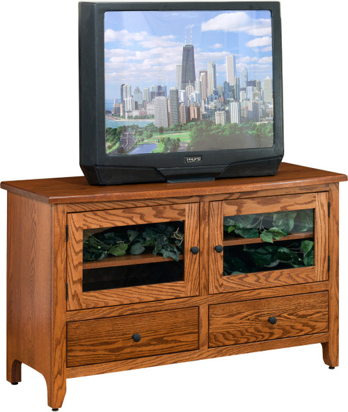 Amish Handcrafted Shaker Economy Tv Stands