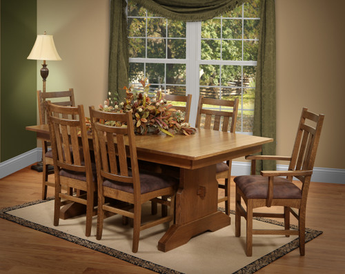 Amish Handcrafted Valencia Dining Collection