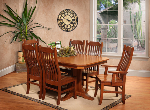 Amish Handcrafted Copper Canyon Dining Collection