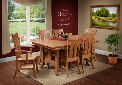 Amish Handcrafted Biltmore Dining Set   Southern Outdoor Furniture