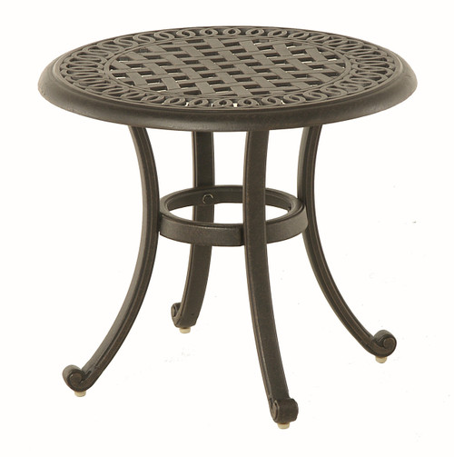 "Hanamint Bella 21"" Round Tea Table"