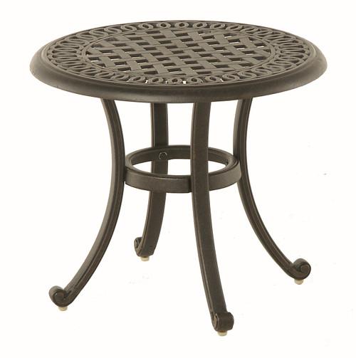 "Hanamint Bella 21"" Round Tea Table"