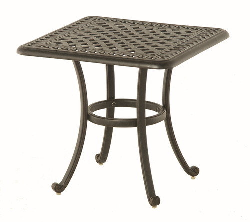 "Hanamint Bella 24"" Square End Table"
