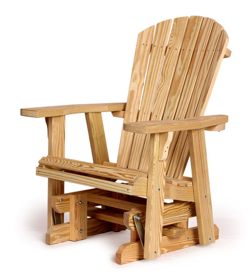 Adirondack Glider made with Treated Wood