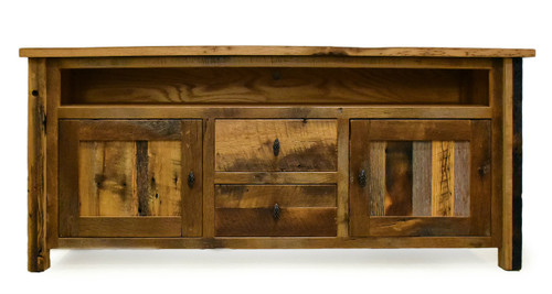 Silverton TV Stand In Reclaimed Barnwood