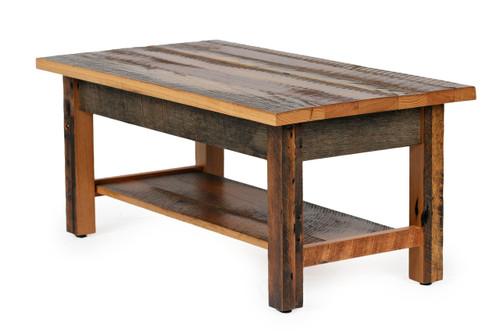 Silverton Coffee Table In Reclaimed Barn wood