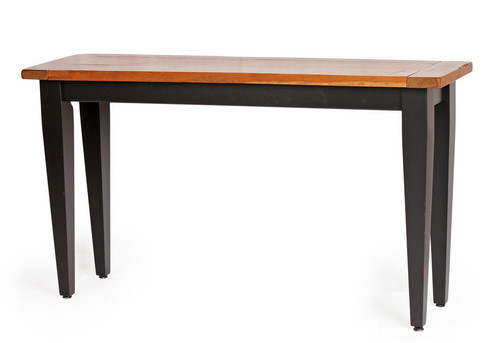 """54"""" Sofa Table In Rustic Cherry"""