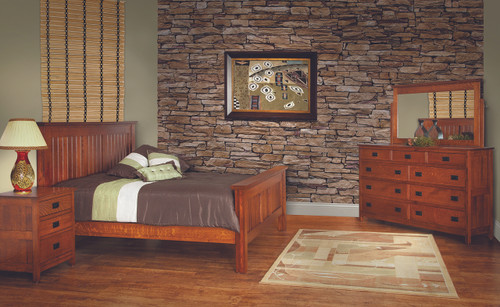 Amish Handcrafted Country Mission Bedroom Collection