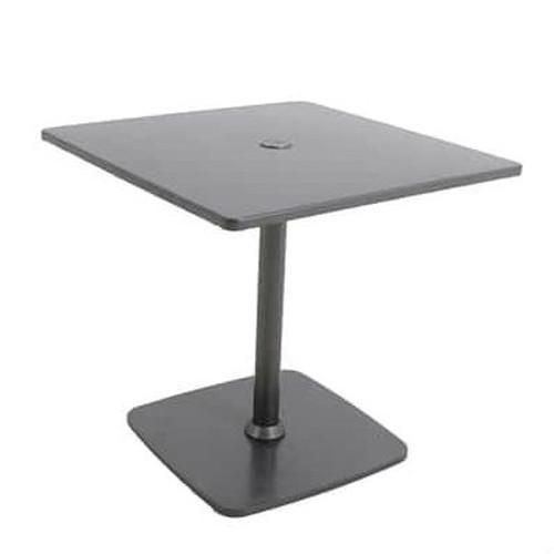 Atlas Aluminum Pedestal Table