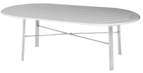 Newport Marine grade oblong Poly Table