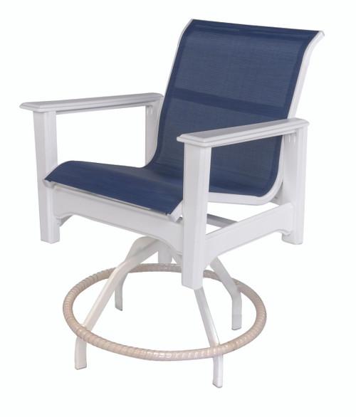 Cape Cod Swivel Balcony Chair