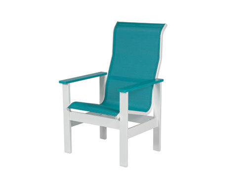 Kingston Sling High Back Dining Chair