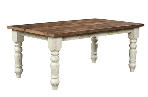 Farmhouse Solid Dining Table