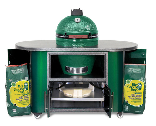 Compact Cooking Island Open