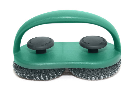 Duel Brush Grill and Pizza Stone Scrubber