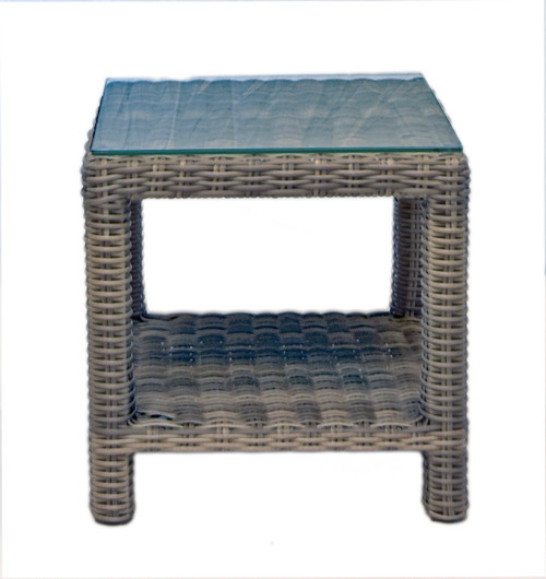 CANA Woven End Table
