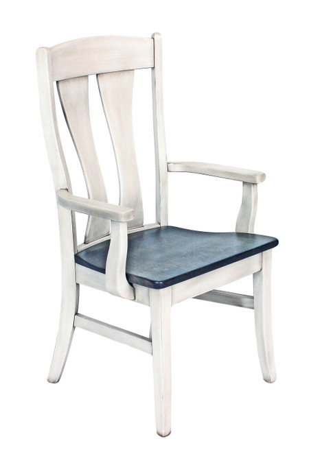Amish Built | Armica Two toned arm chair