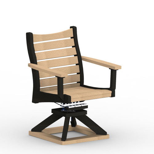 Bristol Swivel Rocker Dining Chair