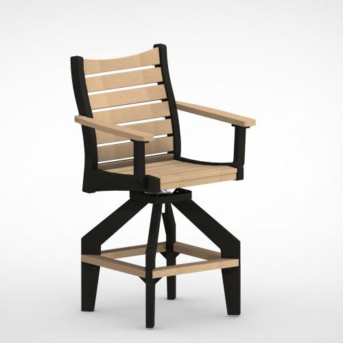 Bristol Swivel Bar Chair