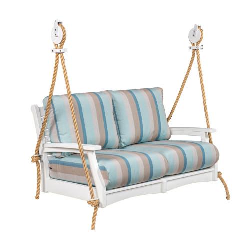 Classic Terrace Loveseat Swing