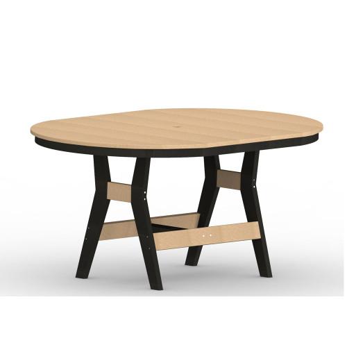 """Harbor 44"""" x 64"""" Round Table"""