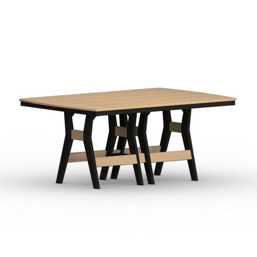 "Harbor 44"" x 72"" Rectangular Table"