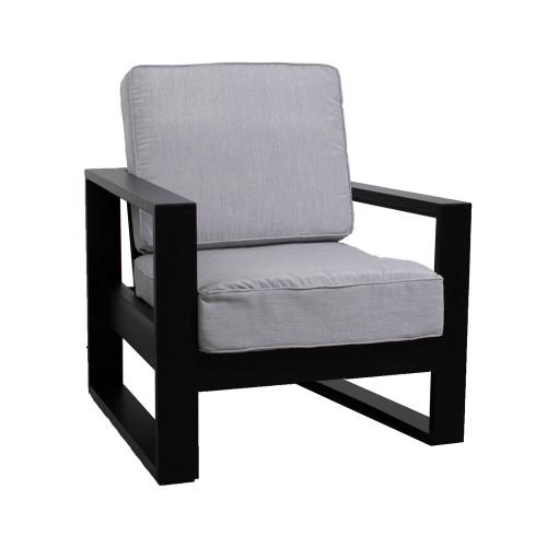 Nordic High Back Club Chair
