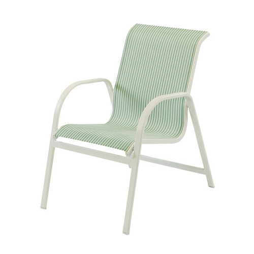Ocean Breeze Sling Dining Arm Chair - Stackable