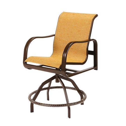 Sonata Sling Swivel Balcony Chair