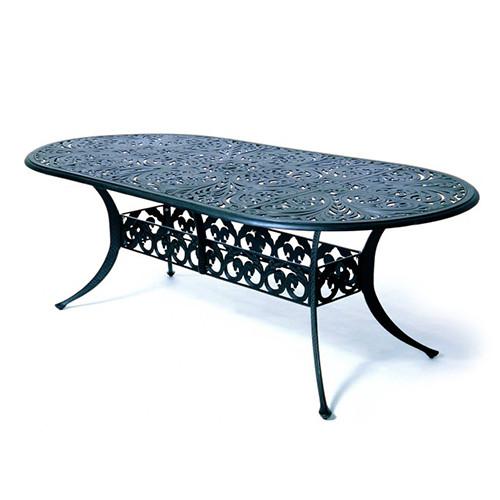 "Hanamint Chateau 84"" Oval Table"