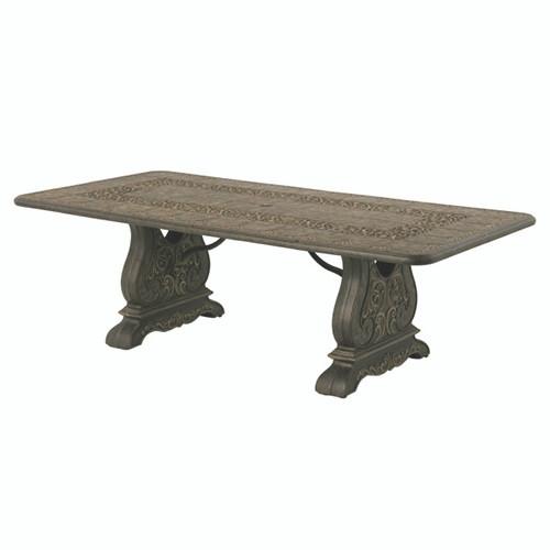 Hanamint St Moritz 46x90 Rectangular Table