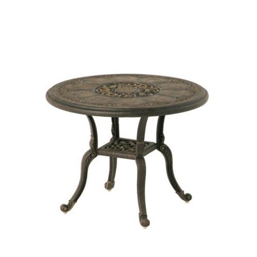 "Hanamint St Moritz 24"" Round Tea Table"