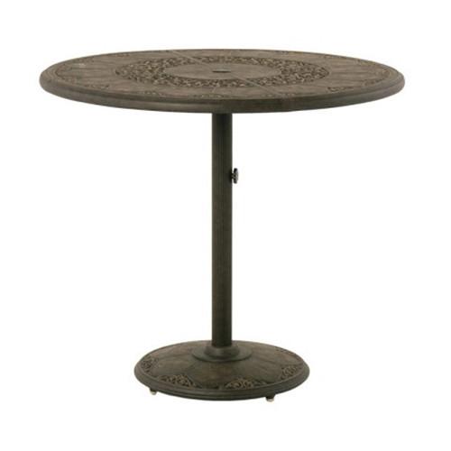 "Hanamint St Moritz 46"" Round Pedestal Bar Table"