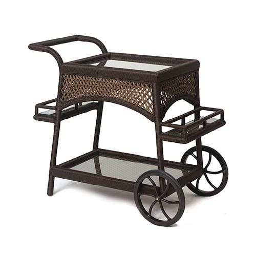 LLoyd Flanders Grand Traverse Serving Cart