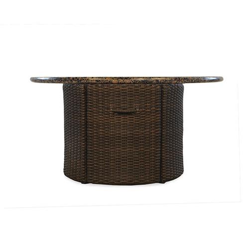 "LLoyd Flanders Mesa 48"" Round Fire Table"