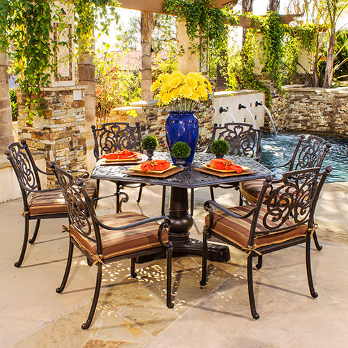 Hanamint St. Augustine Hexagon Dining Set