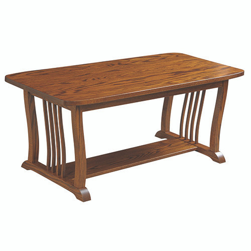 Amish Handcrafted 70 Mission Coffee Table