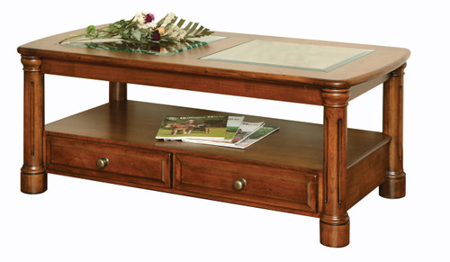 Amish Handcrafted Jefferson Coffee Table