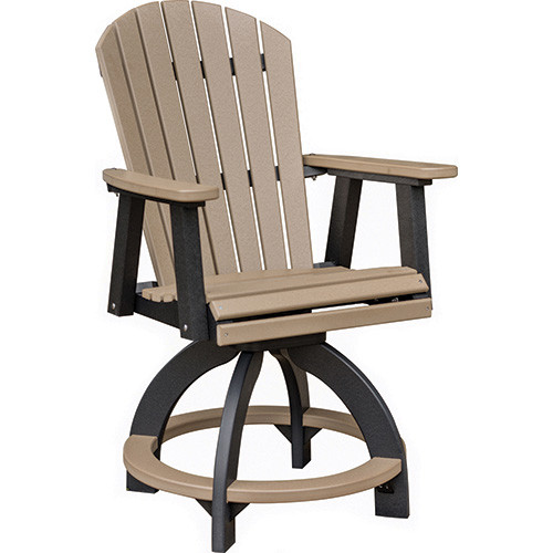 Comfo Back Swivel Counter Chair | Southern Outdoor Furniture