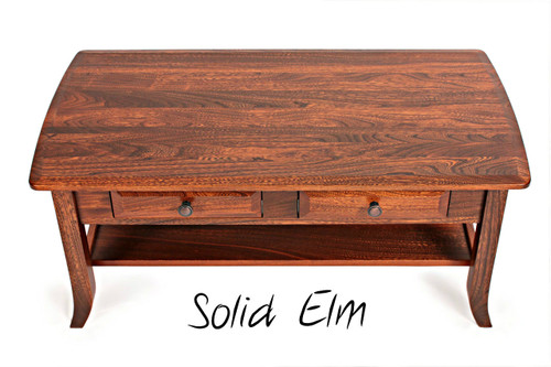 shown in solid Elm