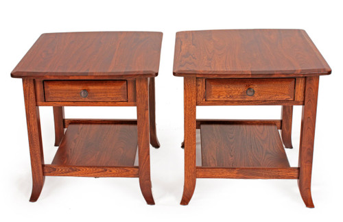 Pair of Sunflower end tables