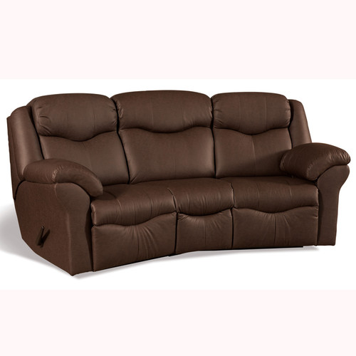 Amish Handcrafted Comfort Suite Curved Sofa