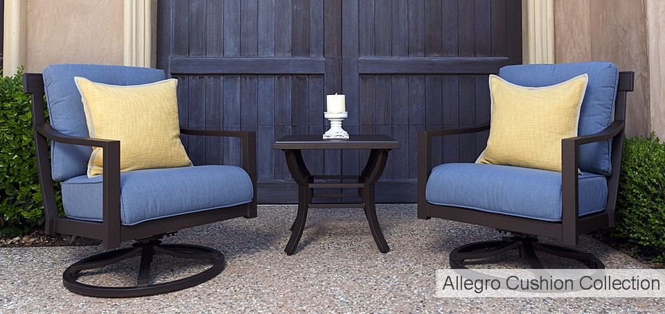 Allegro Cushion Collection