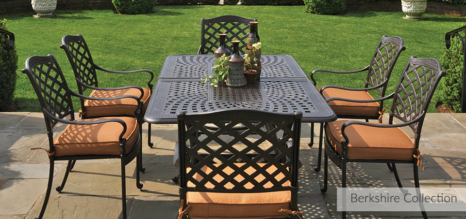 Hanamint Berkshire Outdoor Dining Collection