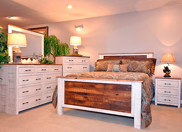 Lincoln Barnwood Bedroom Collection