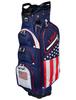 USA Flag Cart Bag