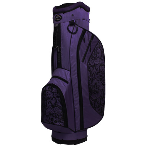 2.5 Ladies Cart Bag Lace Purple/Black