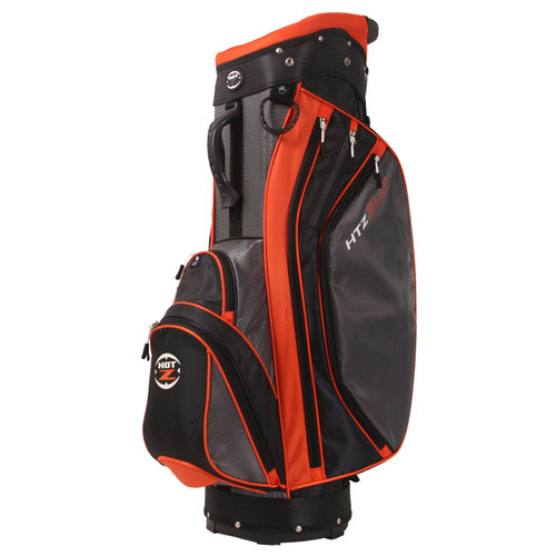 3.5 Cart Bag Orange/Black/Grey