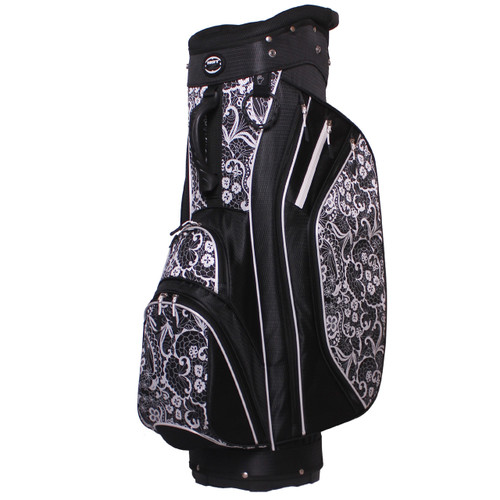 3.5 Ladies Cart Bag Lace Black/White